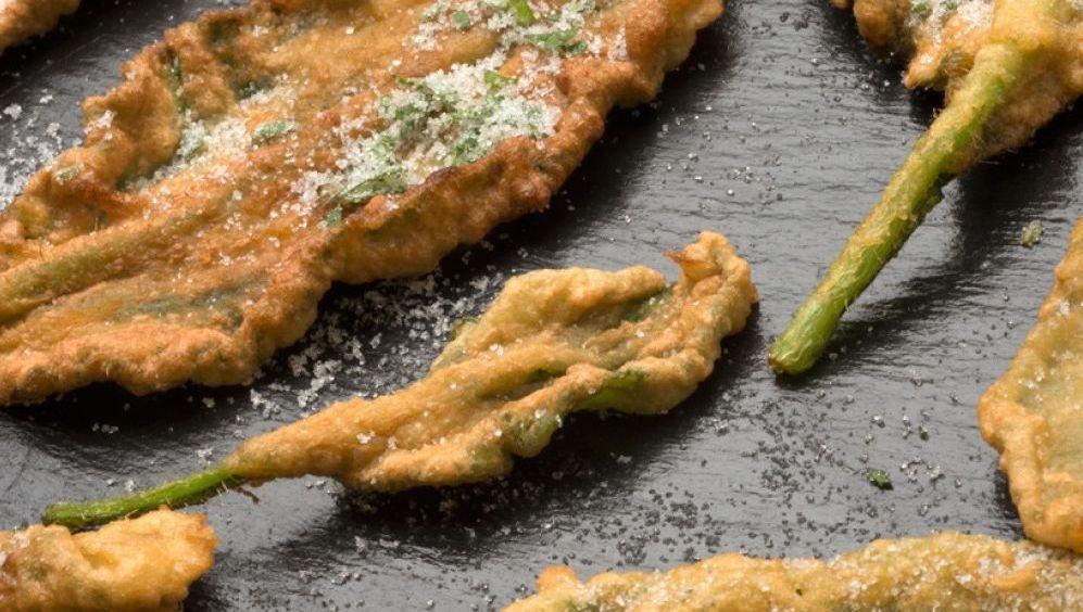 Platos típicos de Huesca: crespillos de borraja