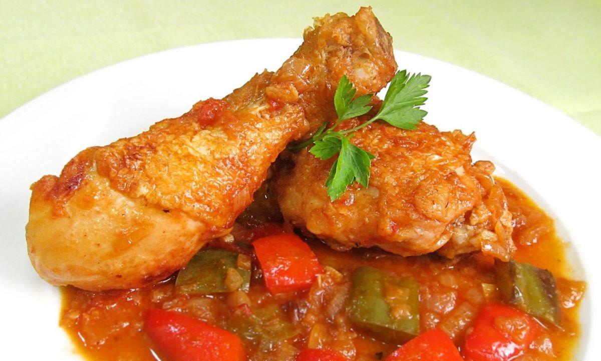 Platos típicos de Huesca: pollo al chilindrón