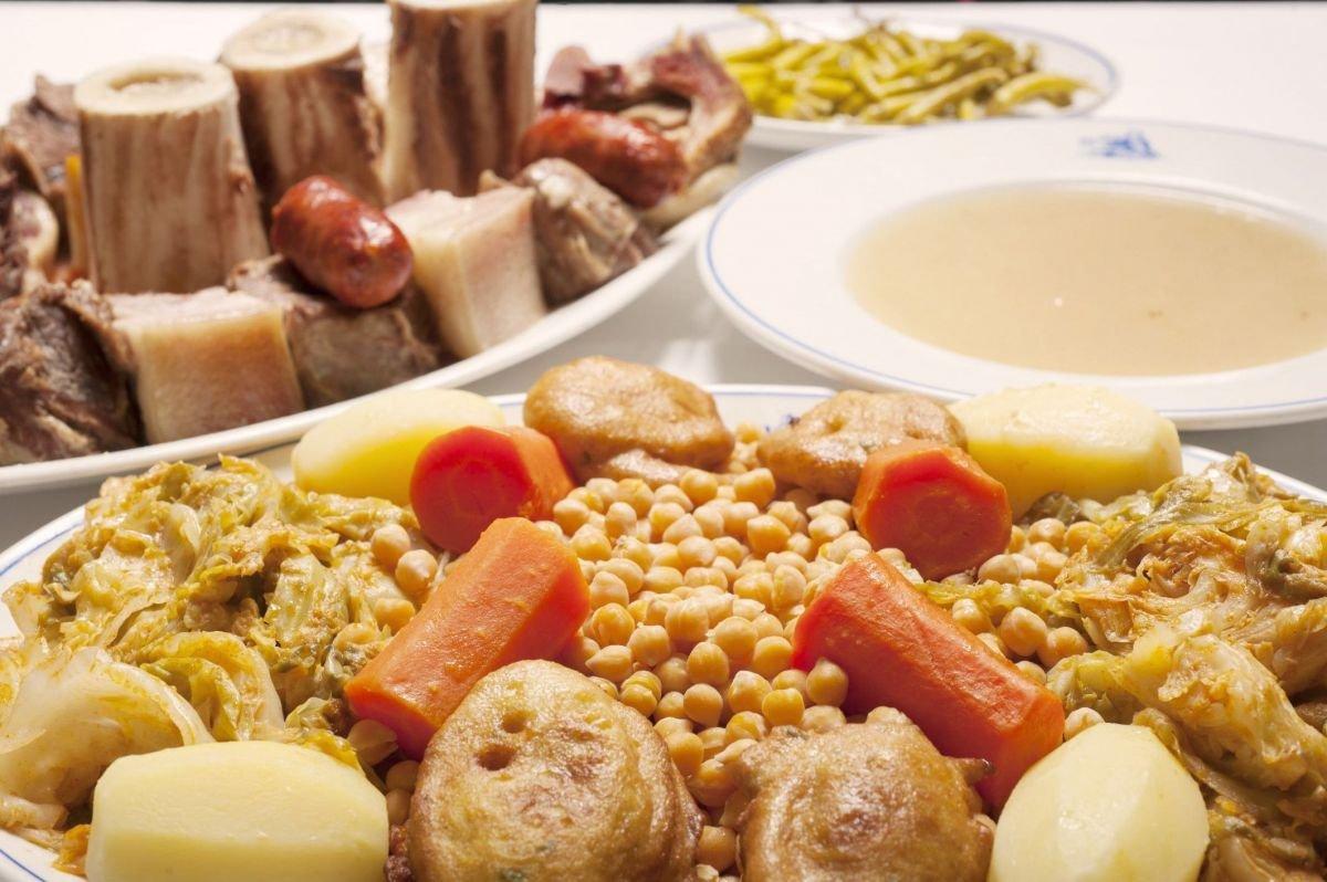 Platos típicos de Madrid: Cocido madrileño