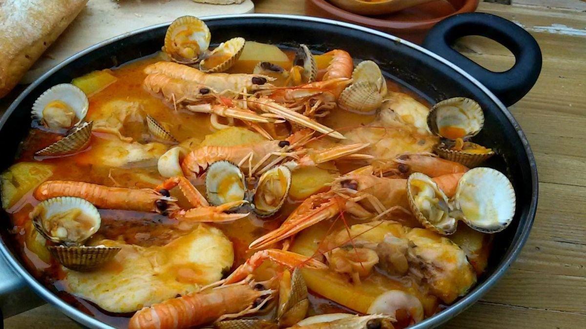 Platos típicos de Almería: Zarzuela de mariscos