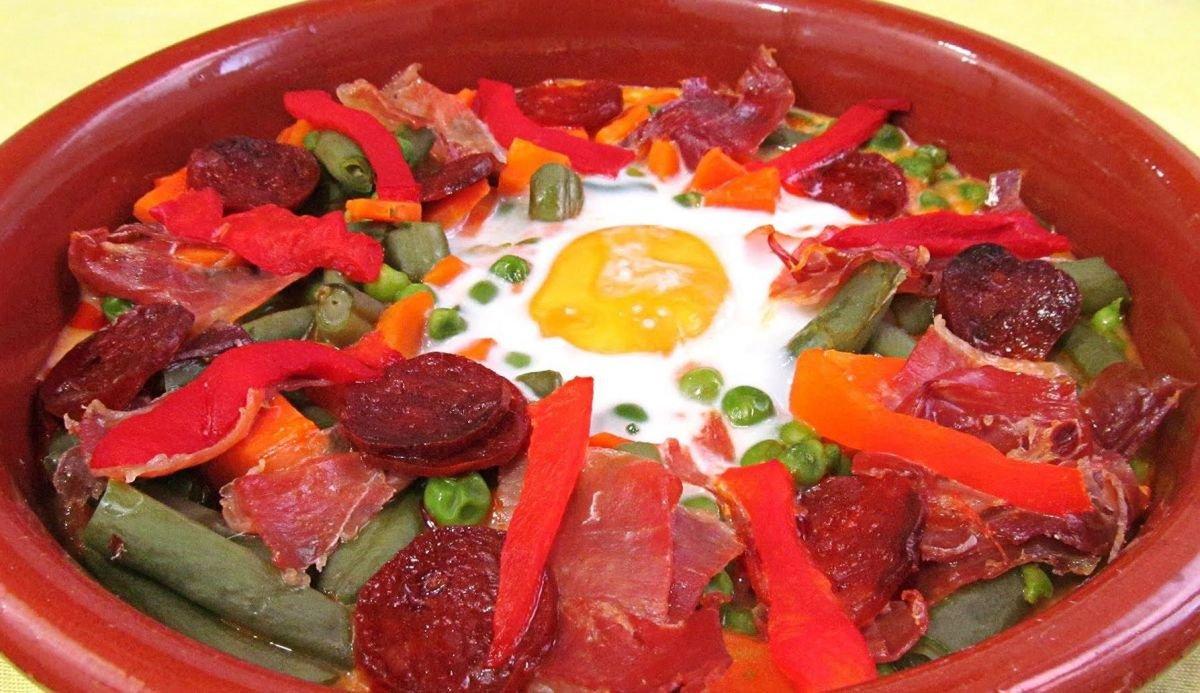 Platos típicos de Sevilla: Huevos a la flamenca