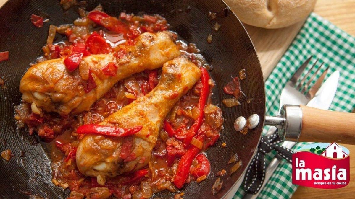 Platos típicos de Zaragoza: Pollo al chilindrón